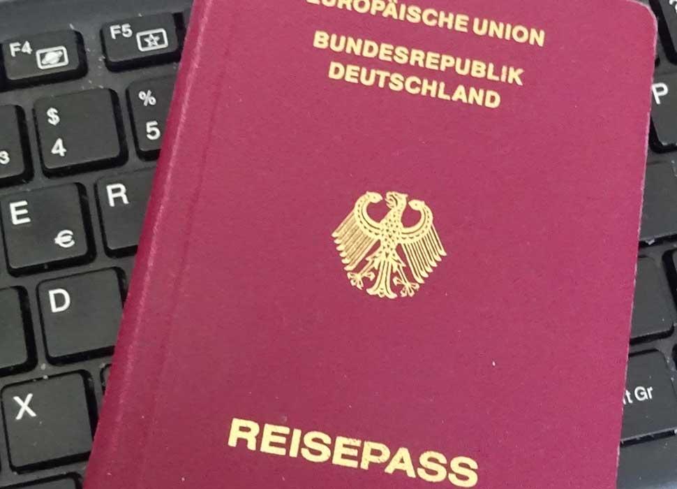 Gültiger Reisepass